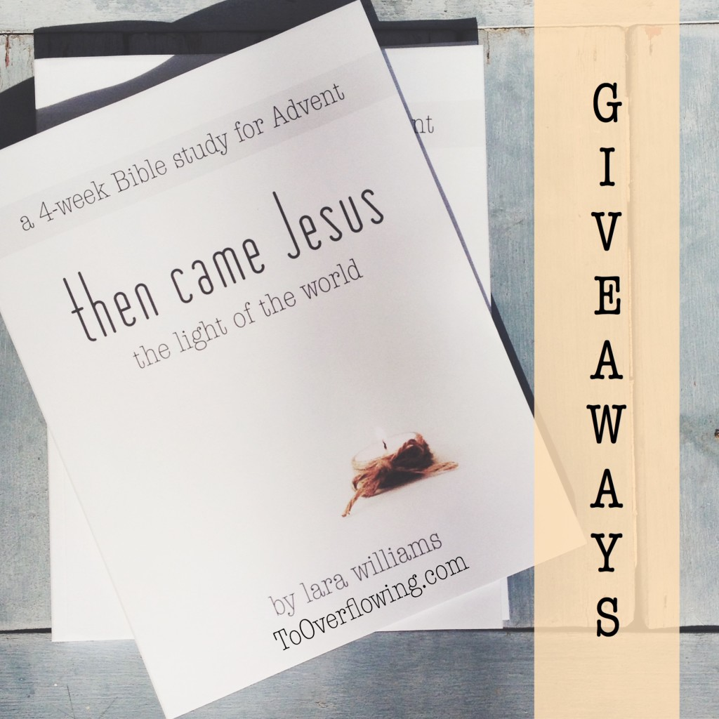 then came Jesus giveaways