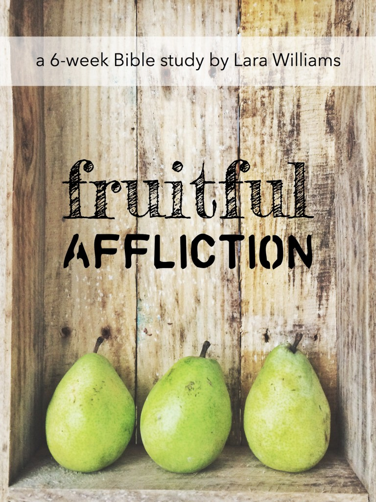 Fruitful Affliction Bible Study www.ToOverflowing.com