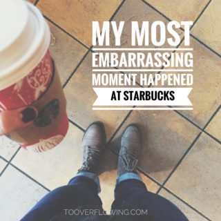 most embarrassing moment